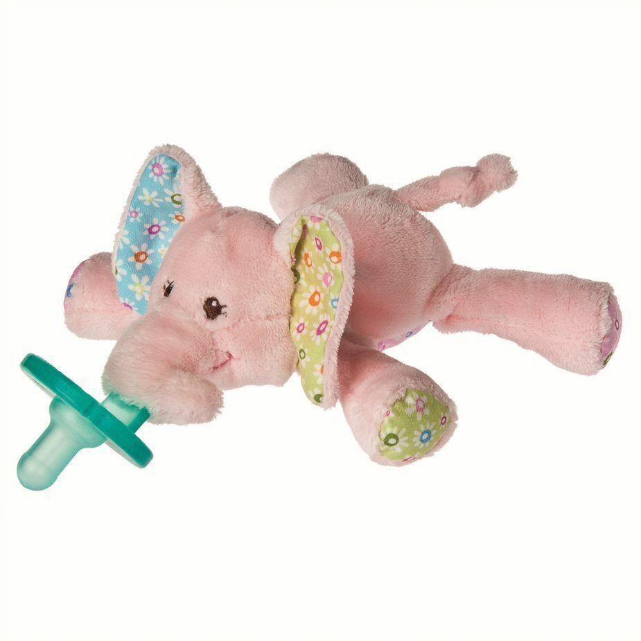 WubbaNub Ella Bella Elephant Pacifier