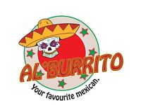 Al'Burrito Food Chauffeur 'Delivery Driver' needed as soon as possible
