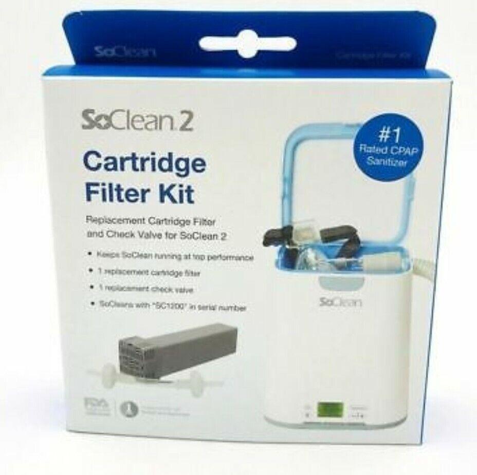 SoClean 2 Cartridge Filter Kit - Authentic Manufacturer Prod