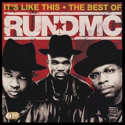 RUN DMC (2 CD) IT'S LIKE THIS : THE BEST OF RUN-D.M.C. ~ 80's / 90's RAP (Best 90s Rap Albums)