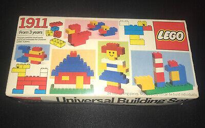 LEGO Universal Building Set #1911 100% SEALED Vintage