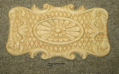 """WOOD EMBOSSED APPLIQUE 5 1/4""""X 9 1/2"""" EACH  HQ005"""