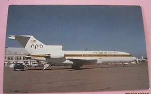 Northern-Pacific-Airlines-Boeing-727-51-Aircraft-Postcard