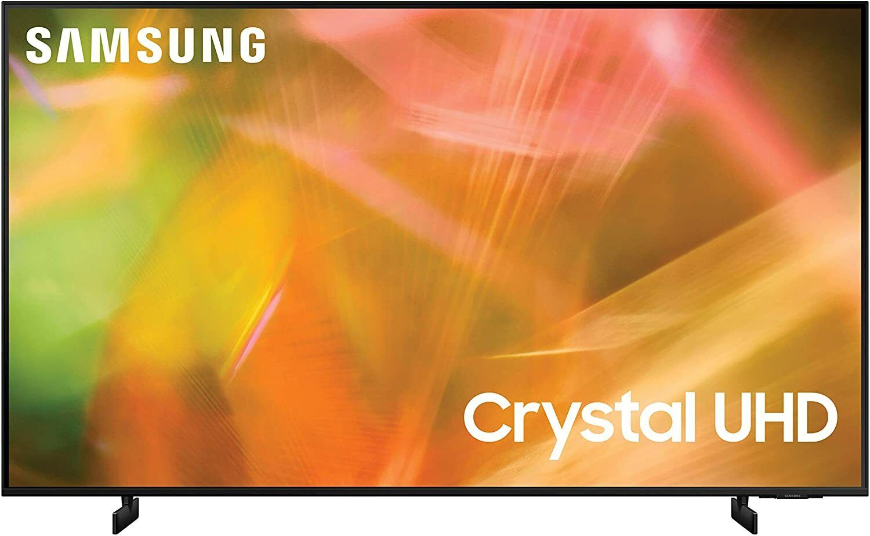 SAMSUNG 65-Inch Class Crystal UHD AU8000 Series - 4K UHD