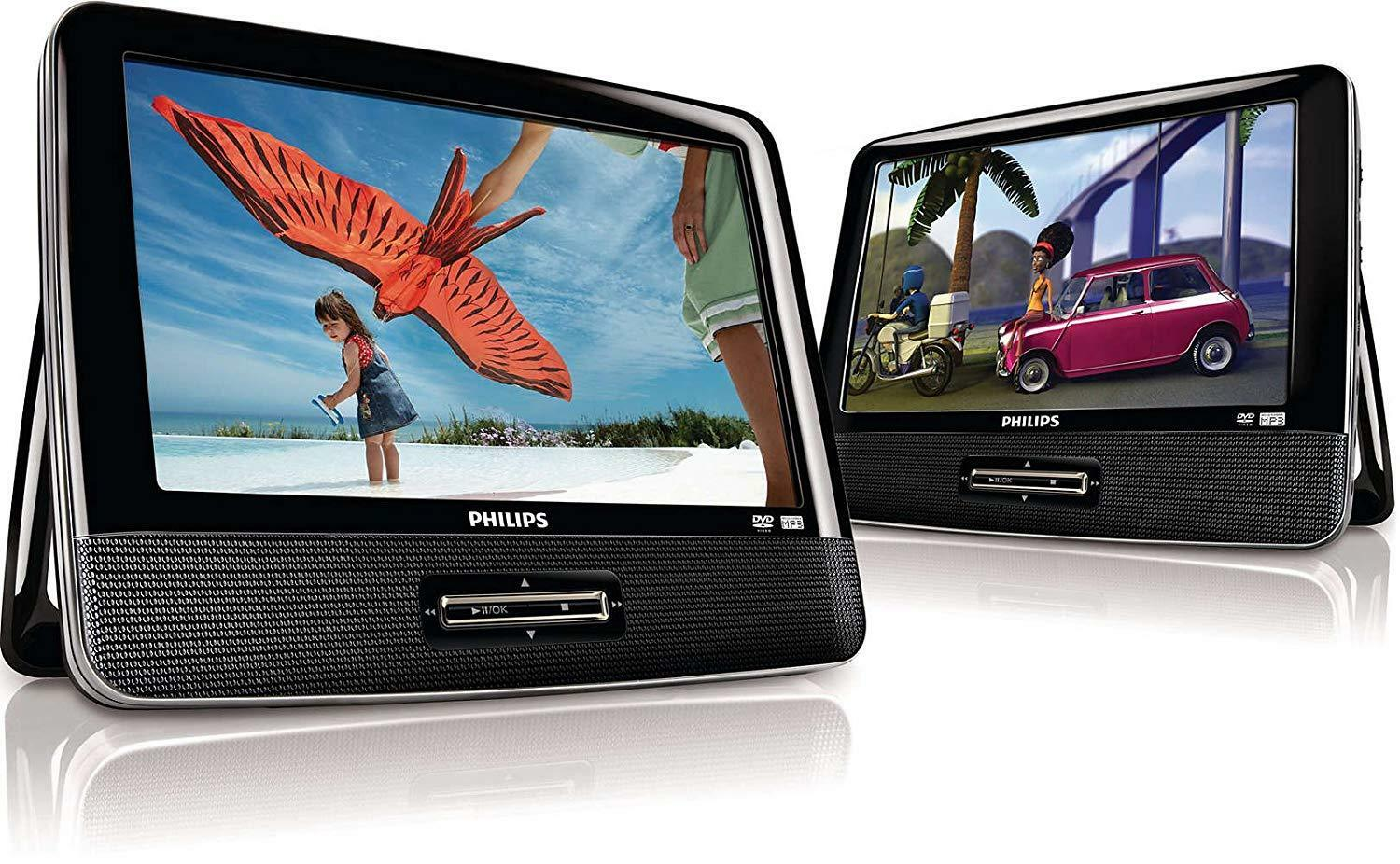 Philips PD9016/37 9-inch Portable LCD Dual DVD player