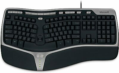 Microsoft Natural Keyboard 4000 for Business 5QH-00001 Black