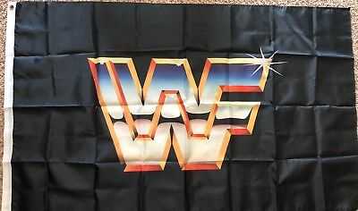 WWF Flag 3x5 World Wrestling Federation Banner Man Cave Bar Sign - Wwe Banner