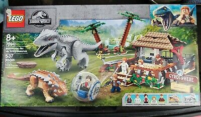 Lego Jurassic Park World Indominus Rex vs. Ankylosaurus Set 75941 New Sealed