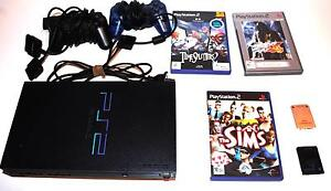 PS2 console + 3 games + 2 controllers + 2 memory cards West Beach West Torrens Area Preview
