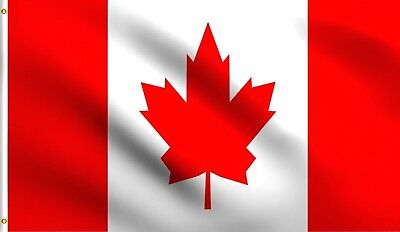 3x5 Canada Flag Canadian Banner Country Pennant Indoor Outdoor  - Outdoor Pennant Banner