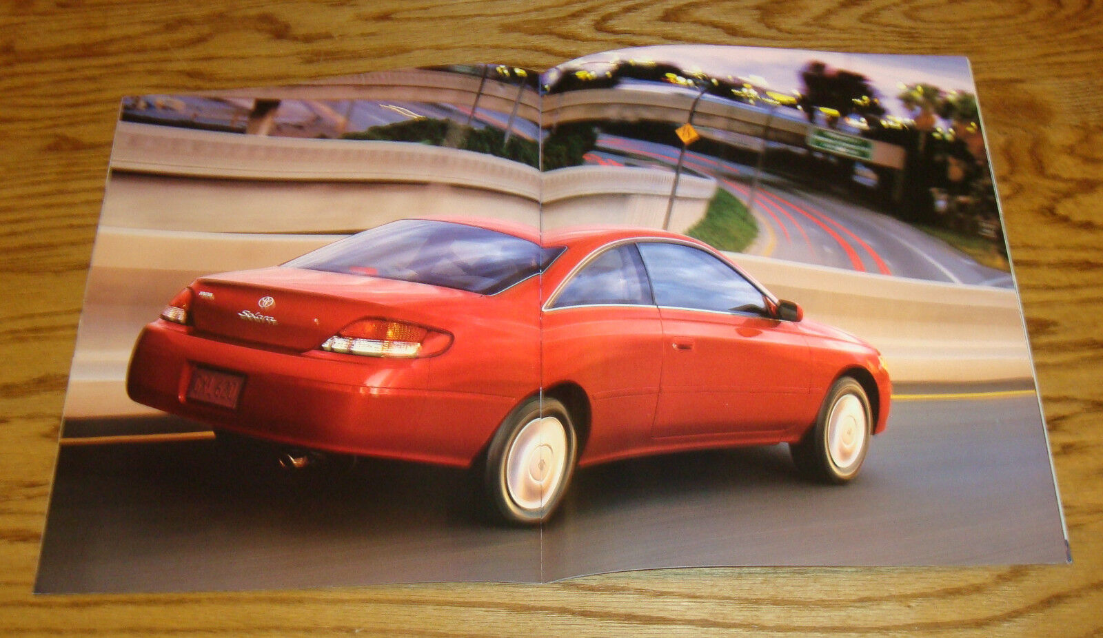 original 2000 toyota camry solara sales brochure