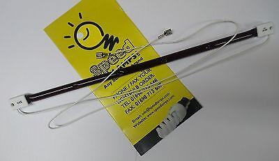4 x Infrared 1.5kw 1500 Watt SK15 Outdoor Patio Heater Lamp Bulb Element + Wires