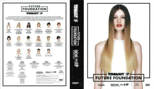 TONI&GUY FUTURE FOUNDATION STYLES STEP By STEP CUT COLOR