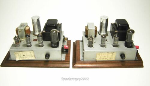 Pair of Vintage Modified Conn 12AB5 Mono Tube Amplifiers / 59050 -- KT2