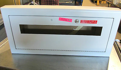 Nib Larsens Semi-recessed Fire Extinguisher Cabinet No Glass ... Vr-28