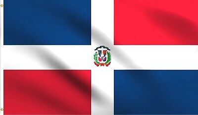 3x5 Dominican Republic Flag Banner Pennant Bandera New Indoor Outdoor - Outdoor Pennant Banner