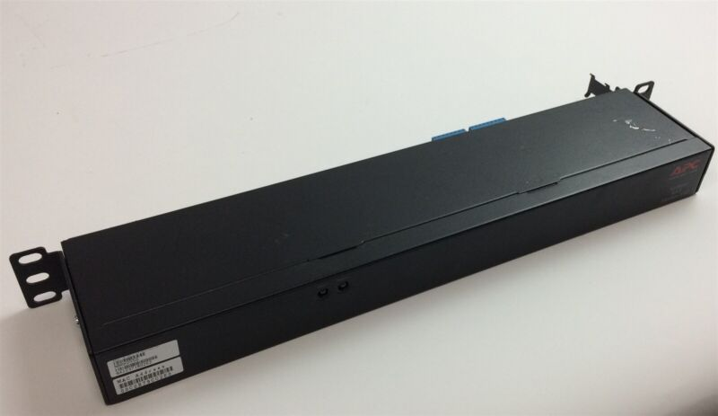 APC NetBotz Rack Monitor 550 NBRK0550 Environment Rack Monitor 6-PORTS LAN