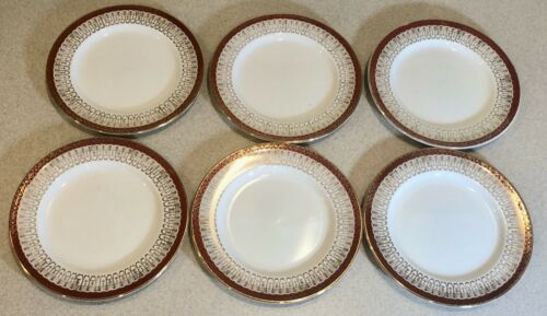 Royal Grafton Majestic Bread And Butter Plates  Set of 6  6.25 inches     JB0497
