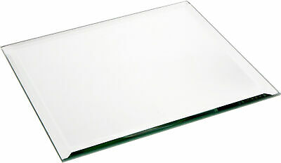 Plymor Square 5mm Beveled Glass Mirror, 8 inch x 8 inch 8 Square Beveled Glass