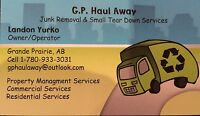 Junk Removal and Small Tear Down Services