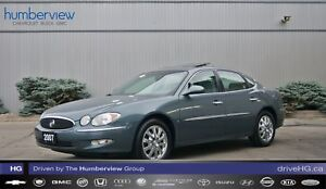 2007 Buick Allure CXL LOW KM|SUNROOF|LEATHER|CHROME WHEELS