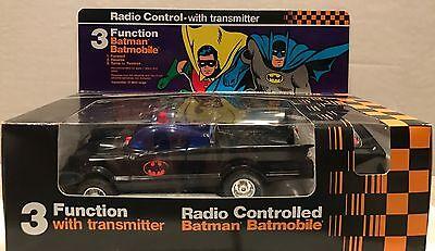 VINTAGE 1979 AHI POWER COMMAND BATMAN RADIO CONTROLLED BATMOBILE!