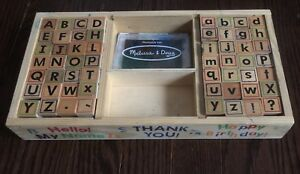 Melissa and Doug Letter/Alphabet Stamps
