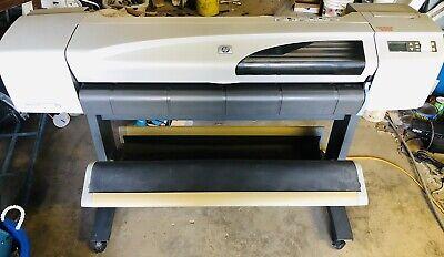 Hp Designjet 500 42 Large-wide-format Inkjet Printer Plotter Pickup In Waco