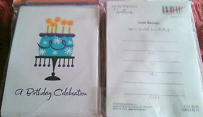 Hallmark Invitations 20 invitations A BIRTHDAY - Hallmark Invitations
