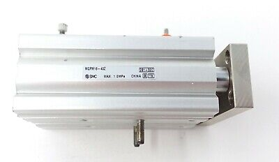 Smc Compact Guide Air Cylinder Mgpm16-40z Used