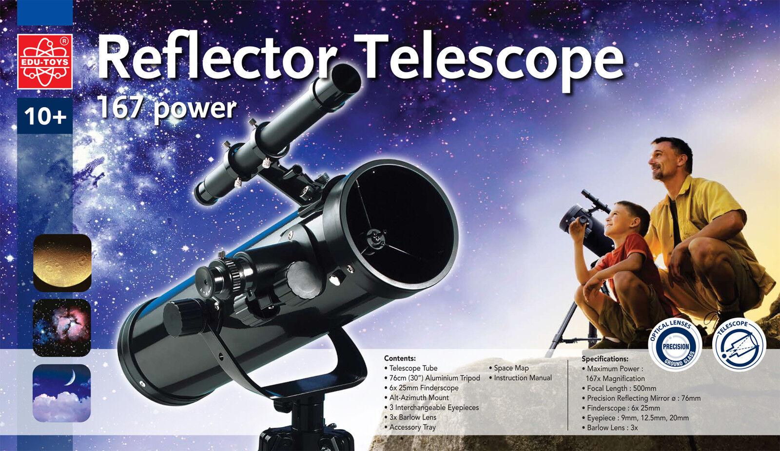 Bresser reflektor teleskop mm durchmesser mm brennweite