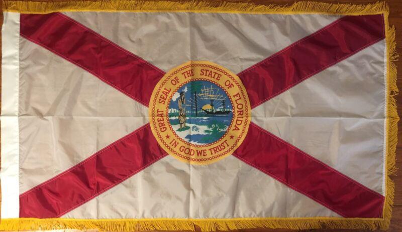 Vintage State Flag of Florida; Supreme Court of Florida Justice Raymond Ehrlich