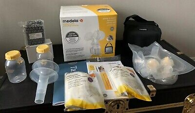 Medela-Pump-In-Style-Advanced Double Electric Breast Pump Starter Kit + BONUS