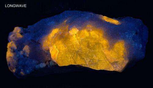434 Gr. Fluorescent Phosphorescent Green Hackmanite, Lapis, Matrix @AF