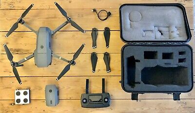 DJI Mavic Pro 4k Drone - with case, ND filters, spare propellers and 2 batteries