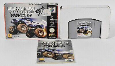 Nintendo N64,Monster Truck Madness 64 PAL,OVP,Anleitung
