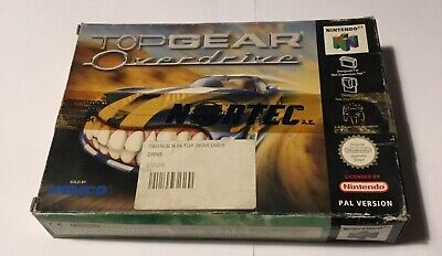 Nintendo 64 TOP GEAR OVERDRIVE N64 PAL BRAND NEW SEALED!