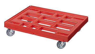Transportroller Transportwagen Rolli für Kisten 80 x 60 cm - 400 kg Traglast