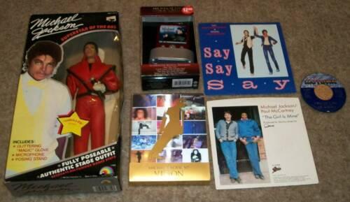 9 MICHAEL JACKSON 1984 THRILLER DOLL MJ VISION SHORT FILMS PAUL MCCARTNEY 1982
