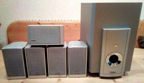 5.1 Soundsystem Tevion DR 1750, Aktivsubwoofer + 5 Satelliten