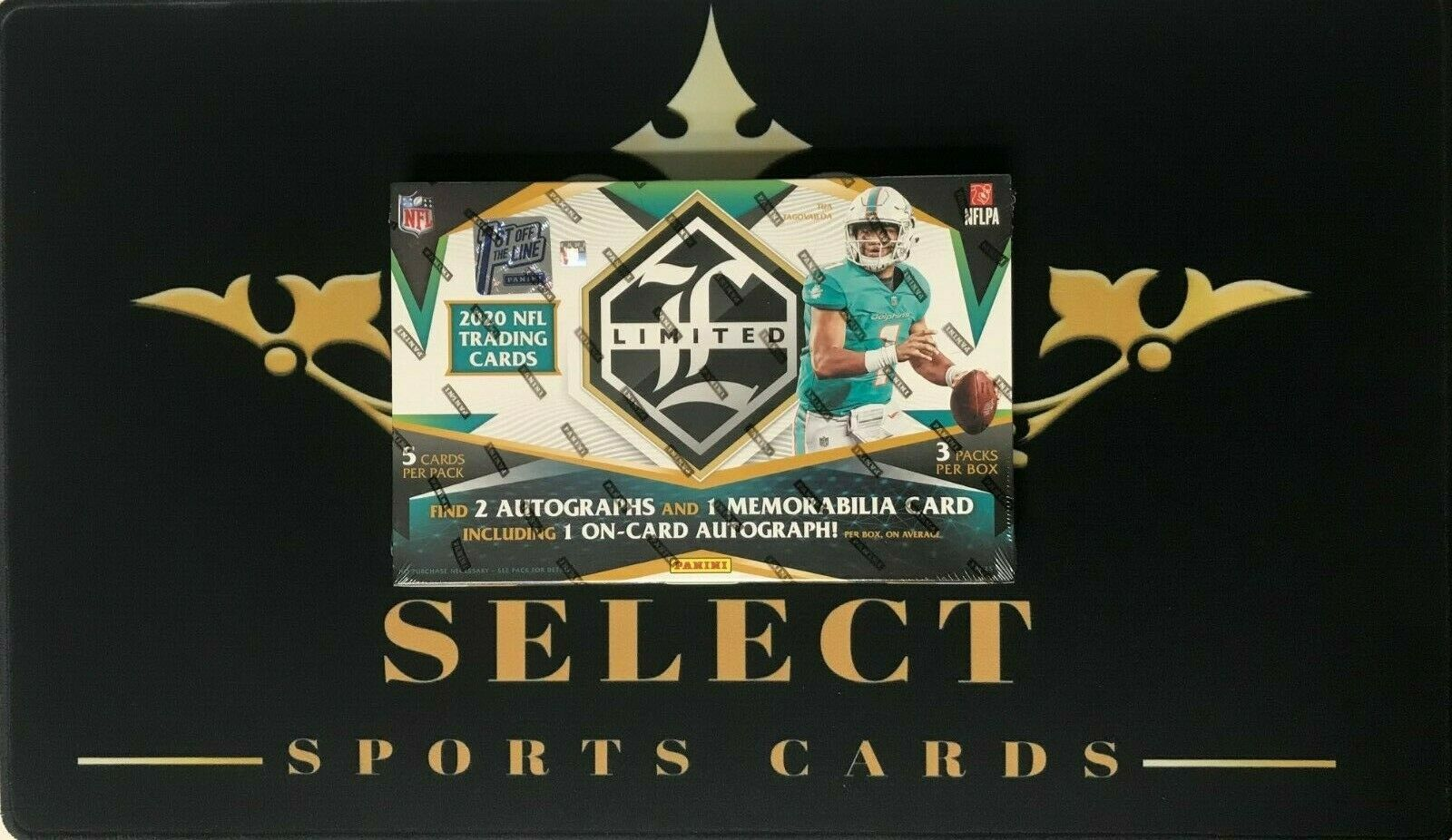STEELERS 2020 PANINI NFL LIMITED FIRST OFF THE LINE HOBBY BOX TEAM BREAK - $20.50