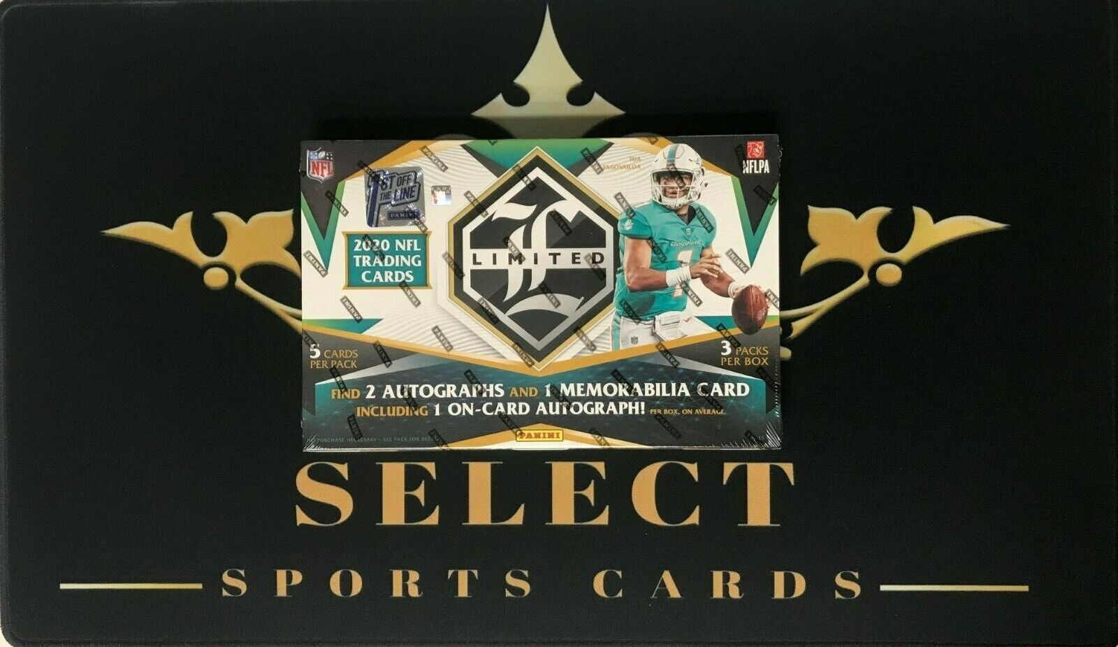 Houston Texans 2020 PANINI NFL LIMITED FIRST OFF THE LINE HOBBY BOX TEAM BREAK - $6.50
