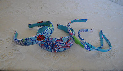 Preppy Headband w/ Lilly Pulitzer Fabric Many Prints 4sizes on Rummage