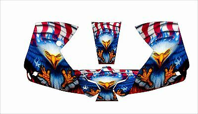 0700000800 Esab Sentinel A50 Welding Helmet Wrap Decal Sticker Eagle American Fl