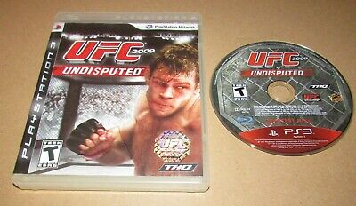 UFC Undisputed 2009 for PlayStation 3 PS3 Fast Shipping! for sale  Shipping to Nigeria