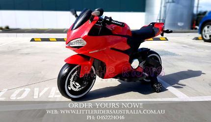 12V Ducati Motorbike (4 wheeler) Ride On Toy For Kids Children