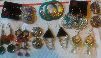 Paparazzi Costume Jewelry Earring Lot New without tags or earring backs.](Paparazzi Costumes)