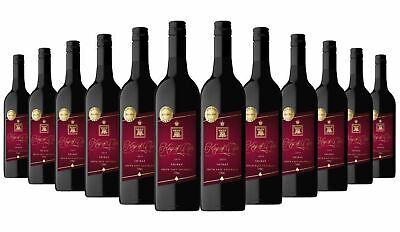King of clubs Shiraz Wine Orbit (85+/100) Red 2019, 12x750ml RRP$240 Free Shippi