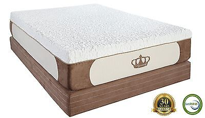 Dynasty Mattress 12  Cool Breeze Gel Memory Foam King Cal Queen Full Twin Xl Rv