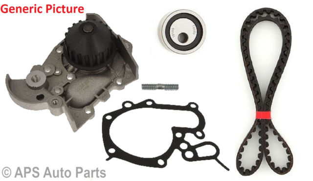 To Fit Renault Clio Extra Van 19 Timing Belt Tensioner Pulley Water Pump Kit